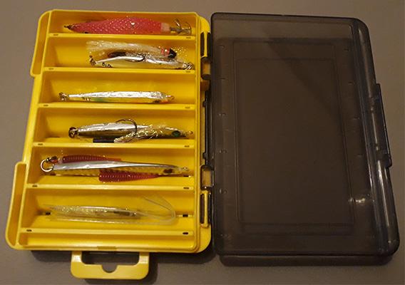 Caja para guardar jigs del aliexpress