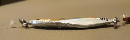 Panza asimétrica del jig