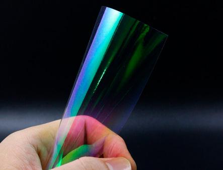 Lámina holográfica para señuelos de pesca