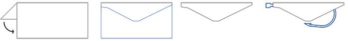 Corte lamina holográfica para Sakibi de pesca